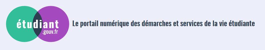 logo site web gouv étudiantx