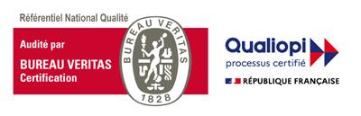 Logo Qualiopi certificat Bureau Veritas